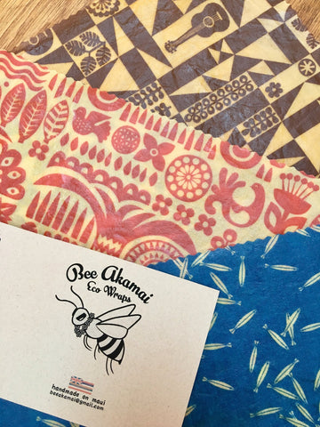 Bee Akamai Wraps for Back to School Gifts