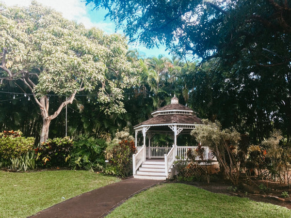 Gazebo at Maui Tropical Plantation