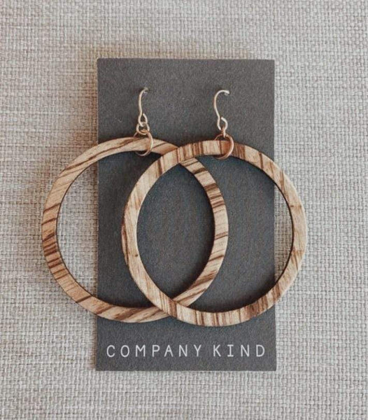 Company Kind Beach Blonde Party Hoops (Pre Sale)