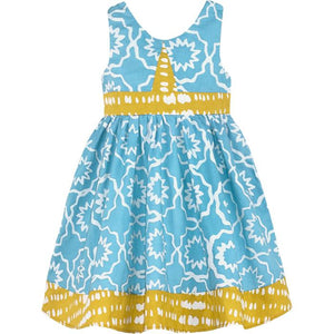 Global Mamas Babies & Kids Organic Cotton Mixmatch Twirl Dress (6M-Girls 6)