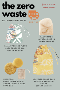 Naupaka Holiday The Zero Waste Holiday Gift Set (FREE shipping!)