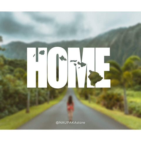 Naupaka Home Hawaiian Islands Decal