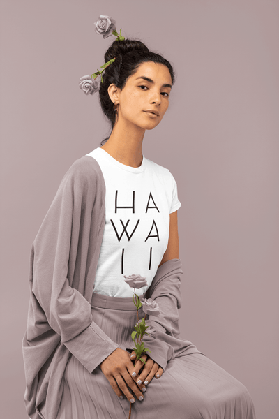 Naupaka Tees Hawaii T Shirt Simple Minimal Hawaii T Shirt