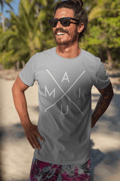 Naupaka Tees The Original Maui X Shirt (Recycles 5 Waterbottles)