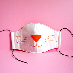 Face Mask - Kitty Cat (2 Colors)
