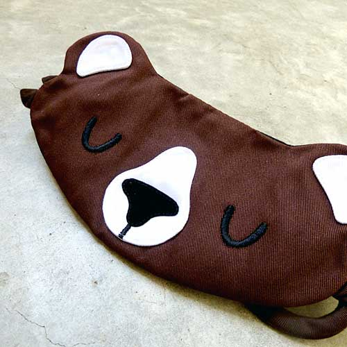 Sleep Eye Mask - Forest Honey Bear (3 Colors)