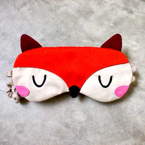 Sleep Eye Mask - Fantastic Fox (3 Colors)