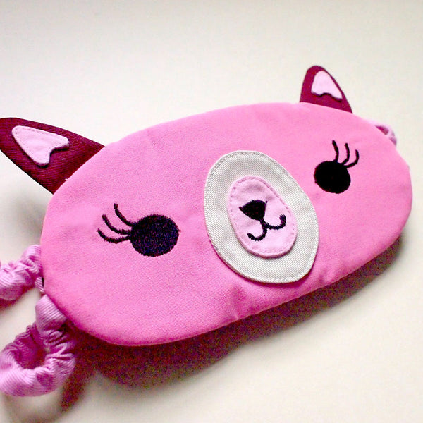 Sleep Eye Mask - Amigo Alpaca (3 Colors)