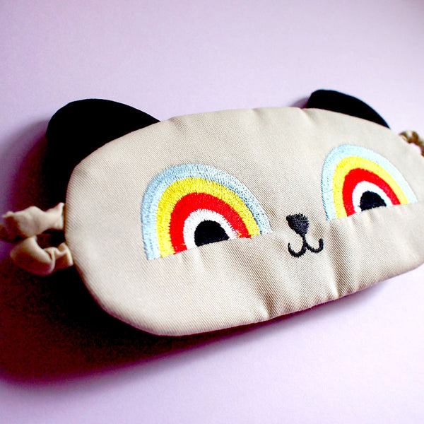 Sleep Eye Mask - Rainbow Eye Critter