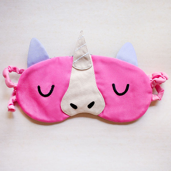 Sleep Eye Mask - Magical Unicorn (4 Colors)