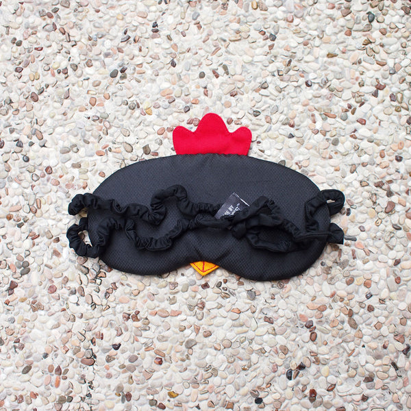 Sleep Eye Mask - Rooster (3 Colors)