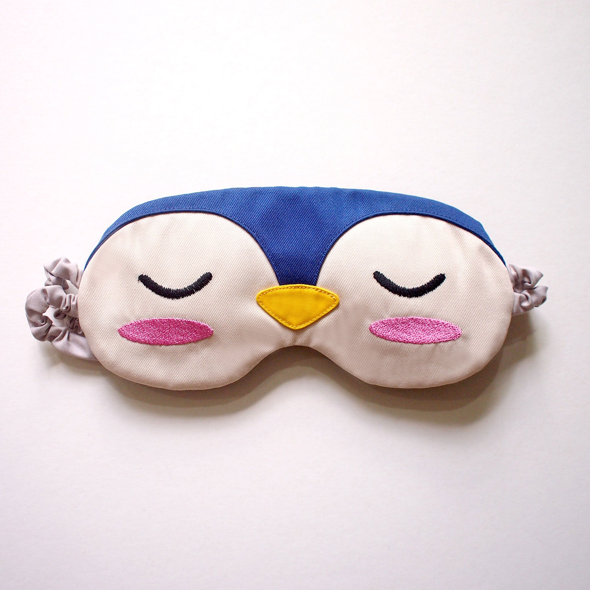 Sleep Eye Mask - Blue Penguin