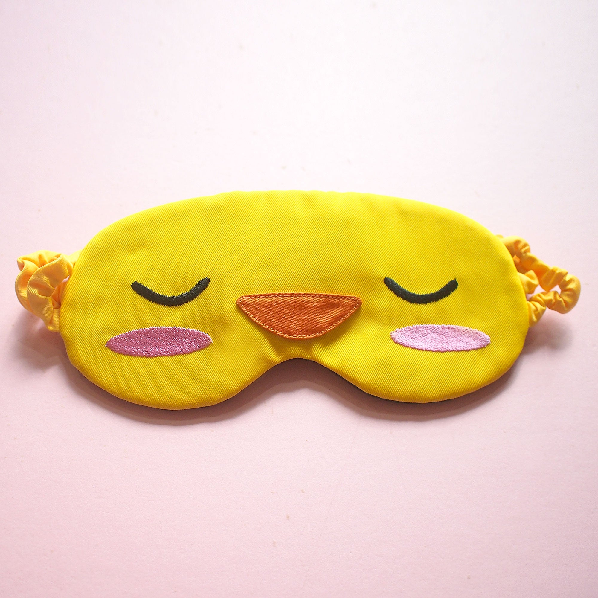 Sleep Eye Mask - Yellow Duckling