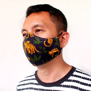Face Mask (Pocket Insert) - Jungle Cheetahs