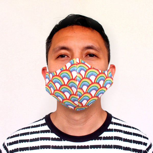 Face Mask (Pocket Insert) - Rainbow Wonderland