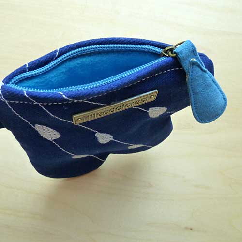 Key-Ring Zip Pouch - Cloudy Days (4 Colors)