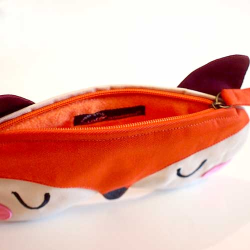 Zip Pouch - Fantastic Fox (3 Colors)