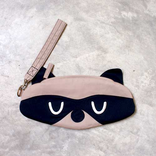 Wristlet - Bandit Raccoon (3 Colors)