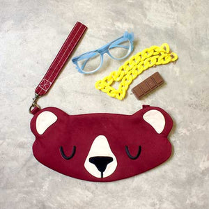 Wristlet - Forest Honey Bear (3 Colors)