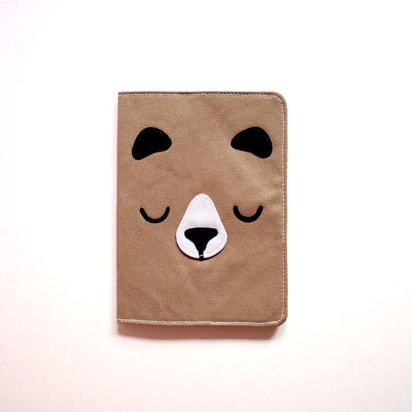 Passport Cover - Forest Honey Bear (4 Colors)