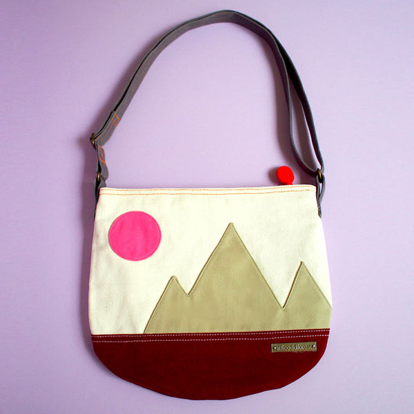 Crossbody Sling Bag - Mountain Friends (4 Colors)