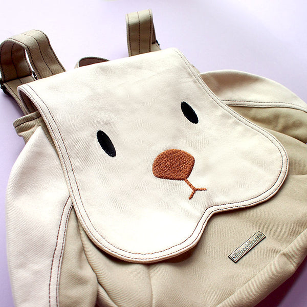 Backpack - Chubby Bunny (Cream Beige)