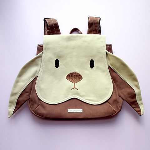 Backpack - Chubby Bunny (Beige Brown)