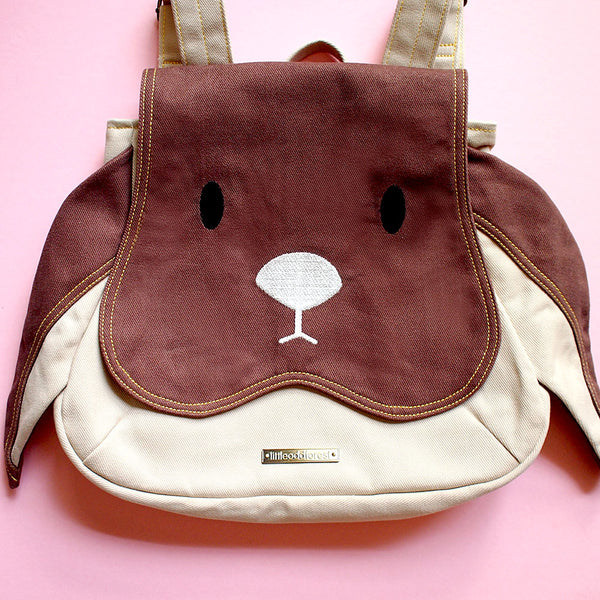 Backpack - Chubby Bunny (Brown Beige)