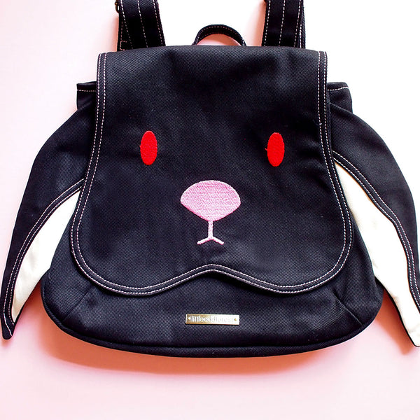 Backpack - Chubby Bunny (Black)