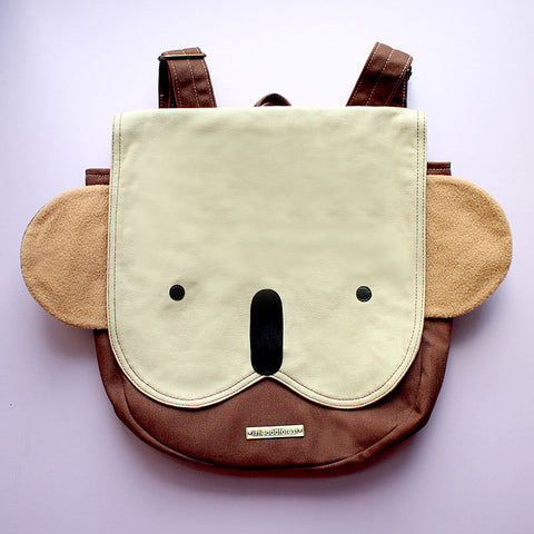 Backpack - Kooky Koala (Beige Brown)