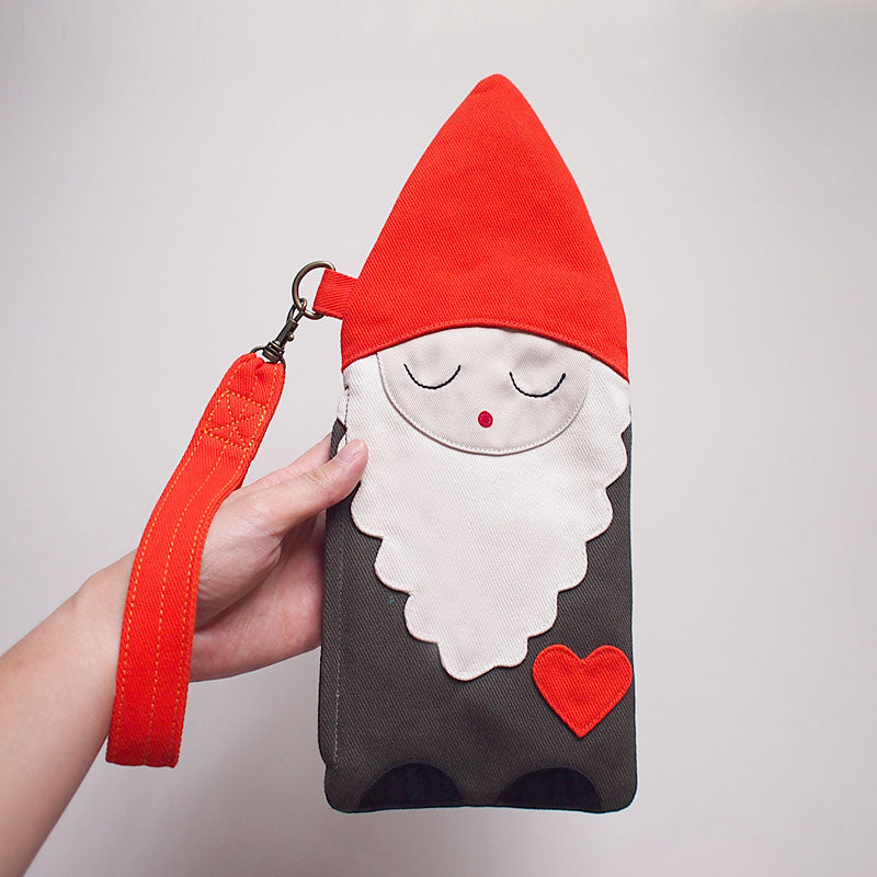 Wrist Pouch - BFF Gnome Friend (Mellow)