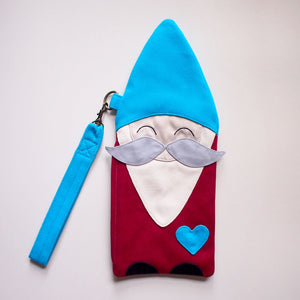 Wrist Pouch - BFF Gnome Friend (Moustache)