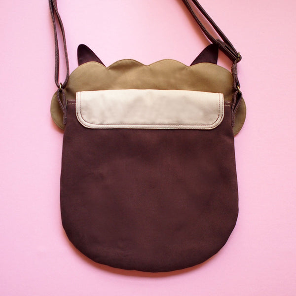 Crossbody Sling Bag - Alpaca Amigo (Brown)