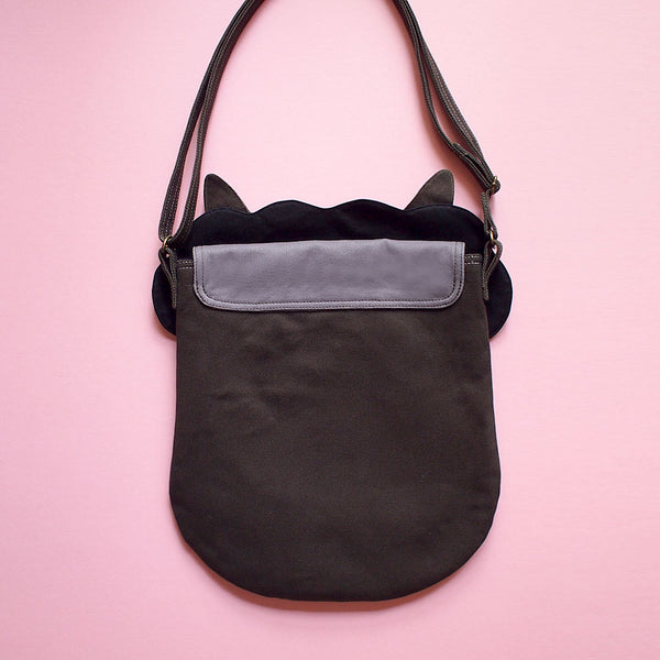 Crossbody Sling Bag - Alpaca Amigo (Black)