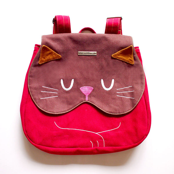 Backpack - Forest Kitty Cat (Tortoiseshell)