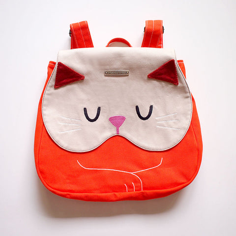 Backpack - Forest Kitty Cat (Ginger)