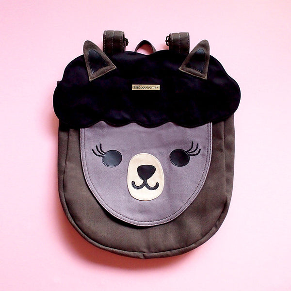 Backpack - Alpaca Amigo (Black)