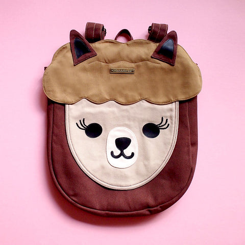 Backpack - Alpaca Amigo (Brown)