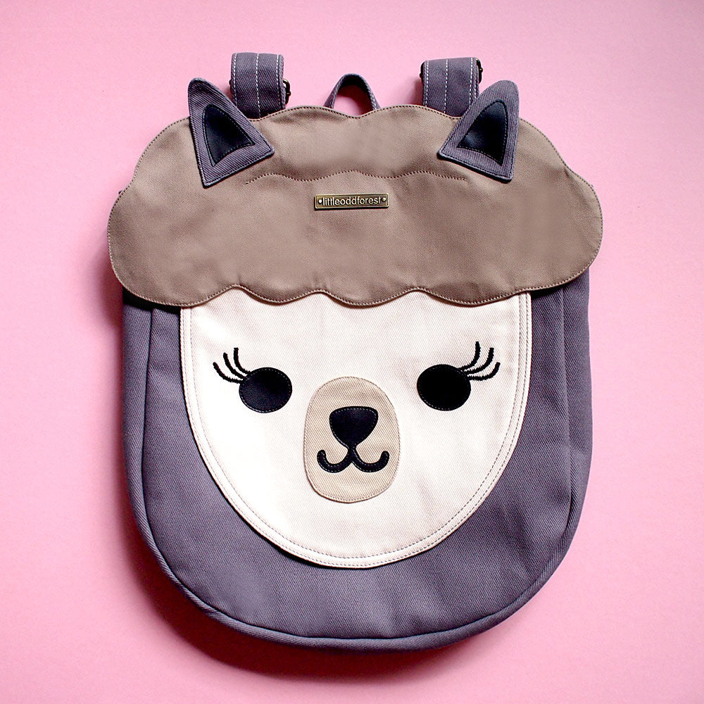 Backpack - Alpaca Amigo (Winter Gray)