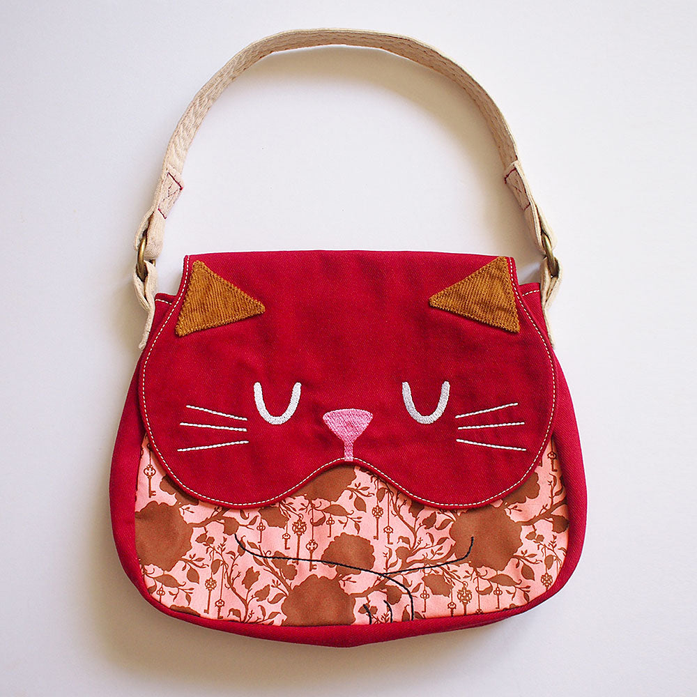 Handbag - Forest Kitty Cat (Vintage Forest Key)