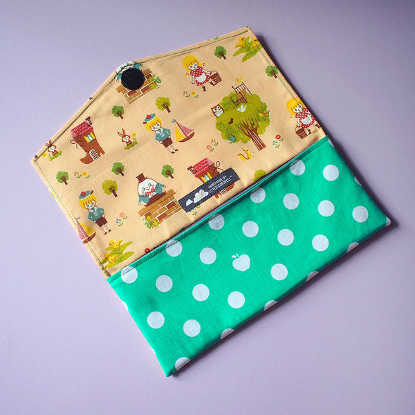 Utensils Pouch (2 Compartments) - Over The Rainbow (Fairy Tales)