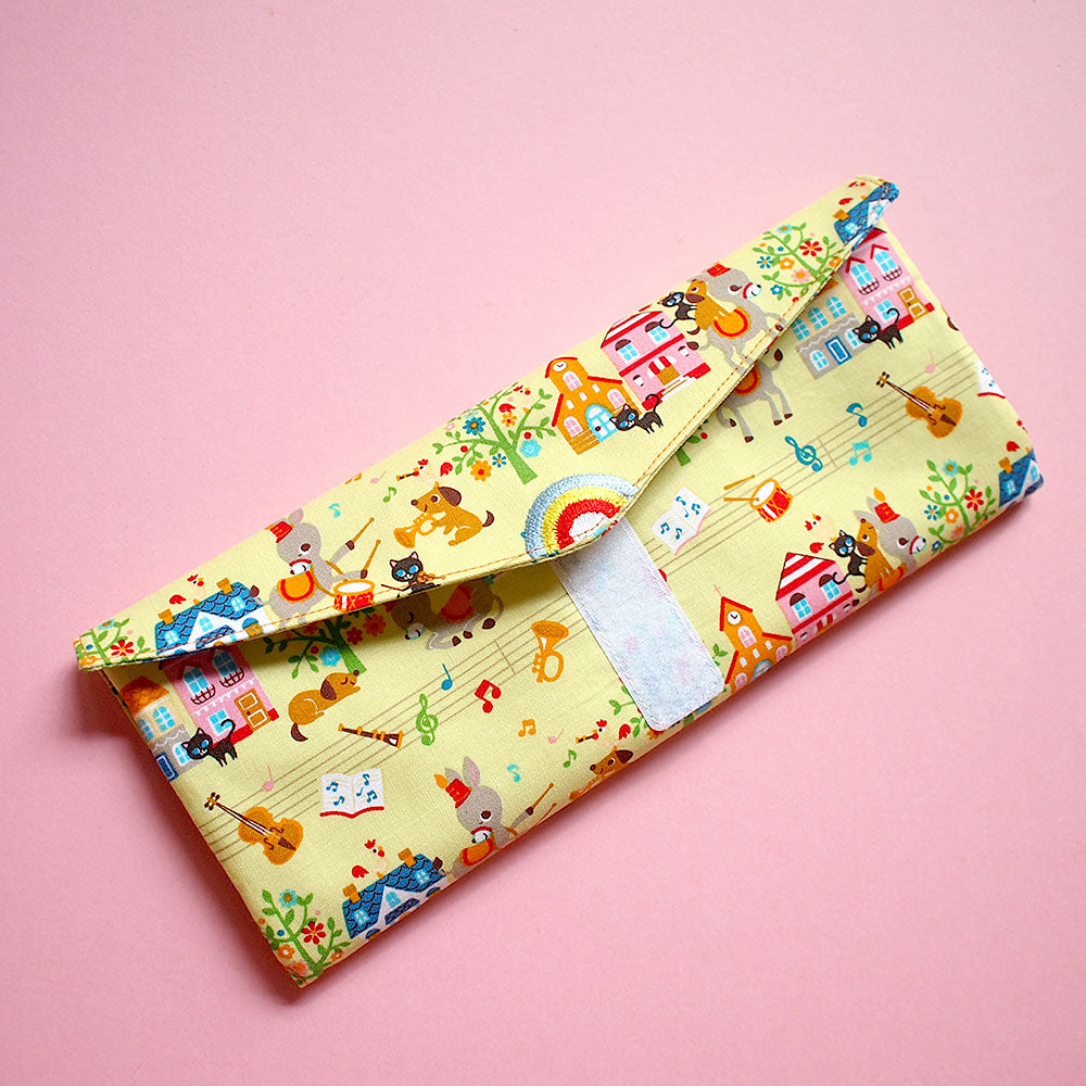 Utensils Pouch (2 Compartments) - Over The Rainbow (Musicians of Bremen)