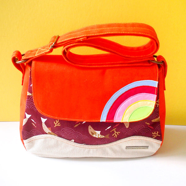 Crossbody Bag - Over The Rainbow (Japanese Fish)