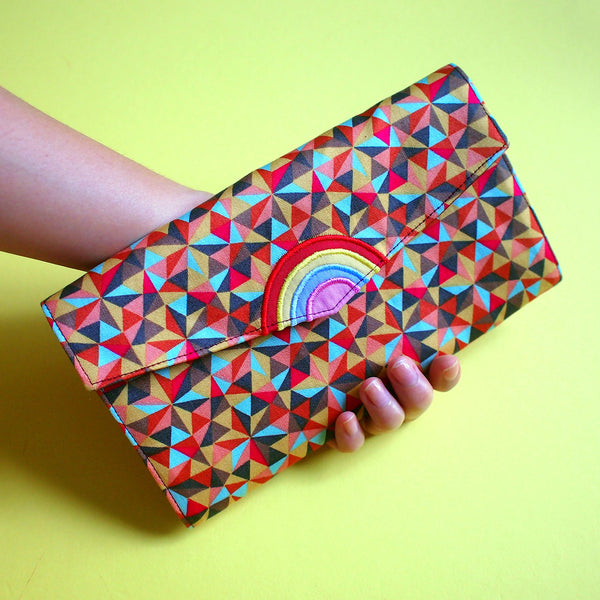 Long Wallet - Over The Rainbow (Prismatic Triangles)