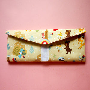 Utensils Pouch (2 Compartments) - Over The Rainbow (Fairytale Winter)