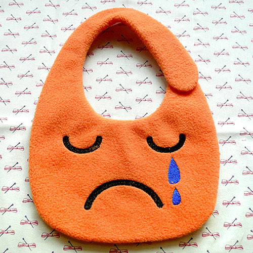 Drool Bib - Cry Baby (7 Colors)