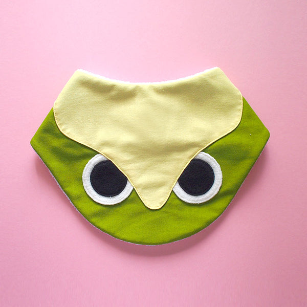 Bandana Drool Bib - Hoot The Owl (5 Colors)