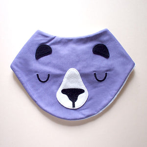 Bandana Drool Bib - Forest Honey Bear (4 Colors)
