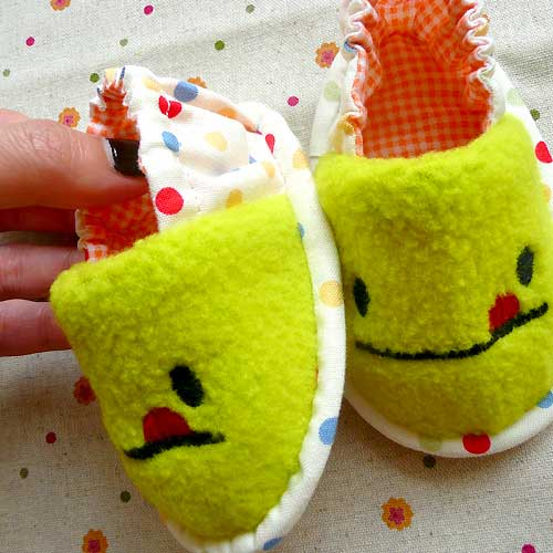 Baby Booties - Cheeky Monster (7 Colors)