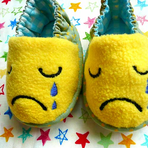 Baby Booties - Crying Monster (7 Colors)